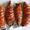 Accordion-Style Sweet Potatoes with Chili Salt and Garlic