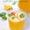 Peach and basil white sangria