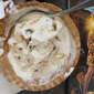 No-Churn Baby Ruth Chunk Ice Cream inspired by The Goonies #FoodnFlix
