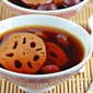 Luo Han Guo with Lotus Roots dessert 罗汉果莲藕甜汤