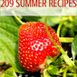 209 Summer Recipes