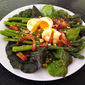 Dorie Greenspan's Bacon and Eggs and Asparagus