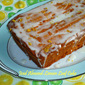 Stonyfield #CleanPlateClub: Iced Almond-Lemon Loaf Cake from Yogurt Culture...Made with OXO Kitchen Tools
