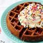 Brownie Waffles (Brownies in 3 minutes – yeah.)