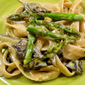 Quick And Easy Summer Meals...Fettuccine With Mushrooms And Asparagus