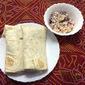 Chicken Coleslaw Wraps