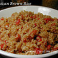 Mexican (Spanish) Brown Rice