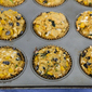 Corn Muffins with Black Beans and Zucchini