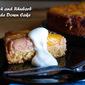 Peach and Rhubarb Upside Down Cake
