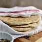 Za'atar spiced Khobez/ Khobz (Arabic Flat bread) for #BreadBakers