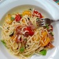 Pasta with Prosciutto and Fresh Tomato Sauce