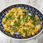 Easy, Fast, Make Ahead, Take Away, Vegan Potato Salad. Sookhe Aloo.