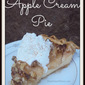 Apple Cream Pie with Walnuts Recipe
