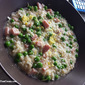 Risotto with Peas & Ham