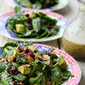 Cranberry Avocado Salad with Sweet White Balsamic Vinaigrette