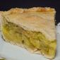Classic Rhubarb Custard Pie