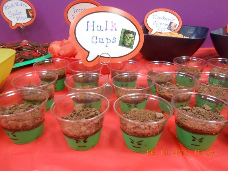 Avengers Themed Birthday Party Food Recipe By Denise