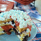 Red White and Blueberry Dessert Waffle Stacks – and the Sweet Secret to Crispy, Crunchy Waffles