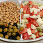 Italian Chickpea Tomato Salad Recipe