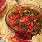 Fire 'n Ice Watermelon Salsa
