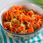 Spiralized Seame Carrot Salad