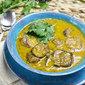 Mauritian Dal (Yellow Split Pea Soup) with Eggplant | Dholl et Bringelle | Vegan + Vegetarian Recipe