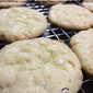 White Chocolate Chip Cake Mix Cookies