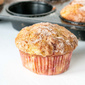 Rhubarb Muffins with Greek Yogurt