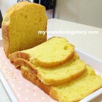 Making Pumpkin Bread with Bread Maker