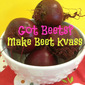 Beet Kvass - Probiotic and Liver Cleanser