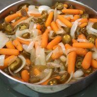 Las Vegas Recipe Guru Jalapeno Marinated Carrots and Onions