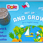 Dole Get Up and Grow Tour San Antonio Recap...Featuring Banana & Blue Breakfast Smoothie