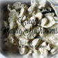 Ceamy Garlic Mushrooms