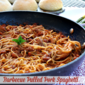Barbecue Pulled Pork Spaghetti