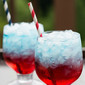 Red, White & Blue Layered Drinks