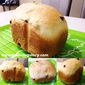 Making Banana Raisin Bread with Bread Maker