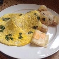 Teddy bear omelet