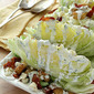 Iceberg Wedge Salad with Bacon, Croutons and Buttermilk Herb Dressing