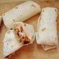 Chicken and Black Bean Burritos with Fresh-Chile Sauce