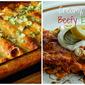 Creamy, Cheesy, Beefy Enchiladas