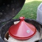 Emile Henry Tagine Meal on the Big Green Egg