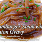 Hamburger Steak with Onion Gravy