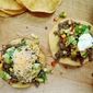 Ground Beef Tostadas with Avocado-Corn Salsa
