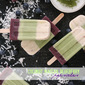 Coconut Matcha Blueberry Popsicles #PopsicleWeek