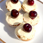 Fresh Cherry Cupcakes For National Cherry Day!