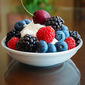 Berries and Yogurt Whipped Cream