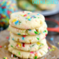 Easy Funfetti Cake Mix Cookies
