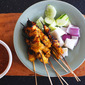 How To Make Grilled Satay Chicken