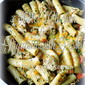 Skillet Chicken and Rigatoni with Pesto