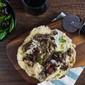Crispy Crust Wild Mushroom Pizza